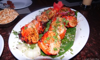 Murgh Rossali Kebab