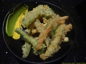 Tempura Vegetables - Decent, nothing outstanding here.