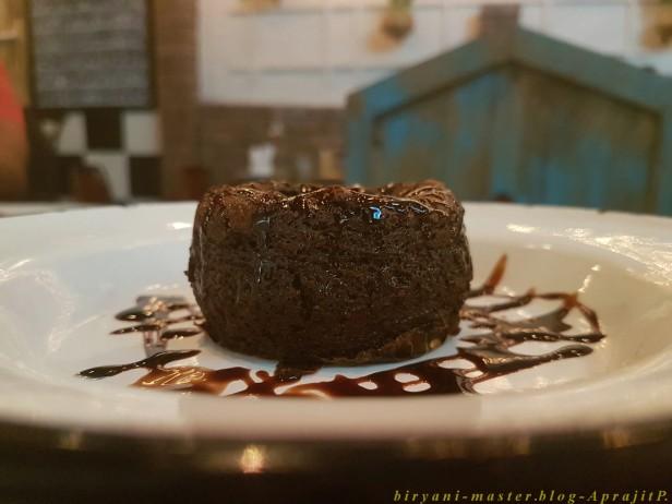 Salted Caramel Lava Cake