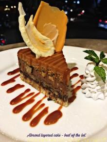 Almond Layered Cake