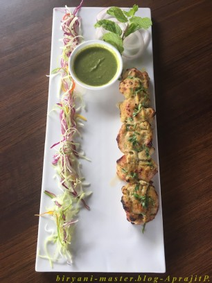 Chicken Zaytooni Kebab