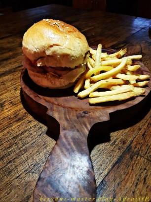 Veg Boxty Burger