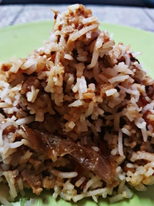 Afghani Chicken Biryani